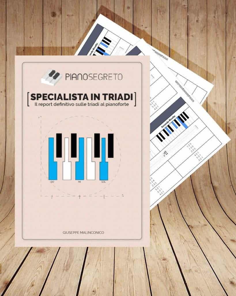 accordi pianoforte gratis le triadi