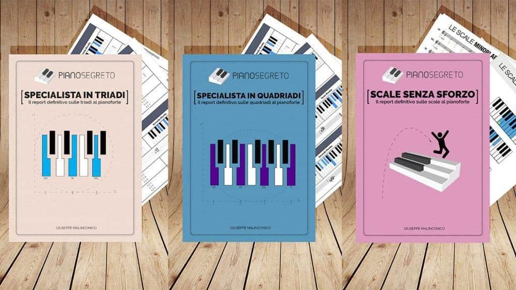 Accordi pianoforte e scale pianoforte