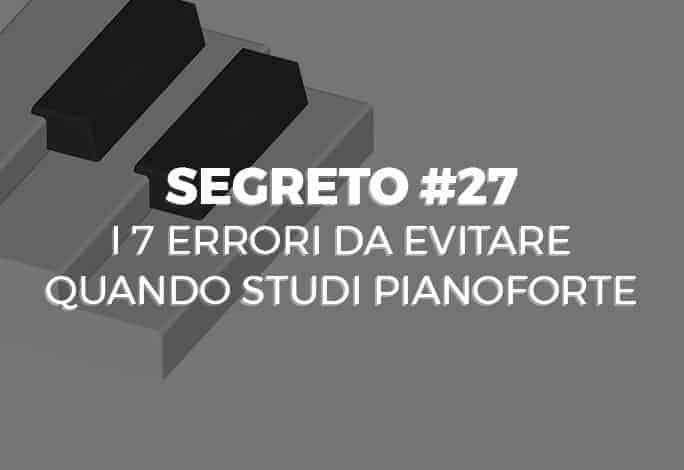 Errori Pianoforte