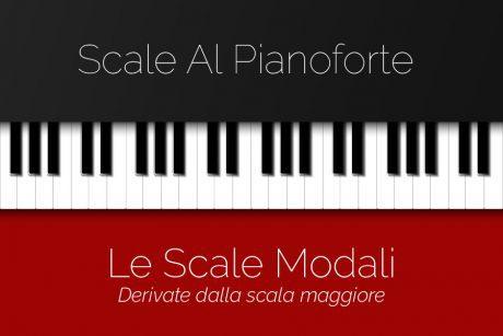 scale modali al pianoforte