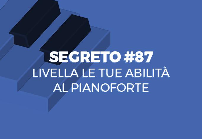 abilità al pianoforte