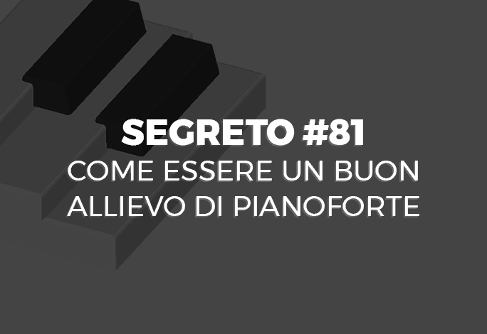 allievo di pianoforte