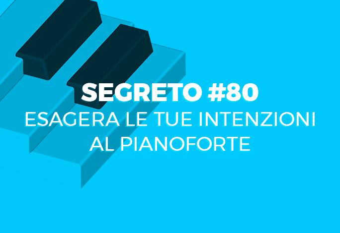 intenzioni al pianoforte