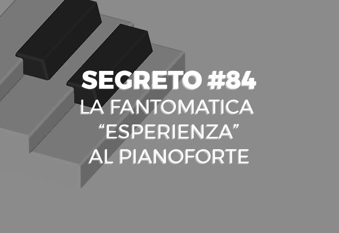 esperienza al pianoforte