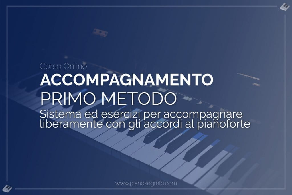accompagnare al pianoforte