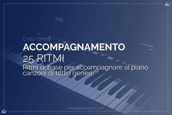 accompagnare con i ritmi al pianoforte