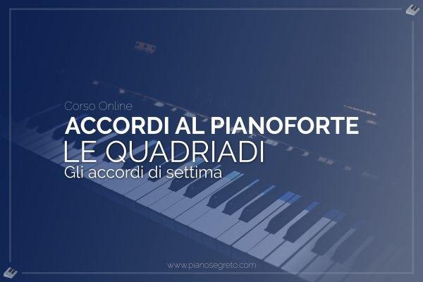 accordi di settima al pianoforte