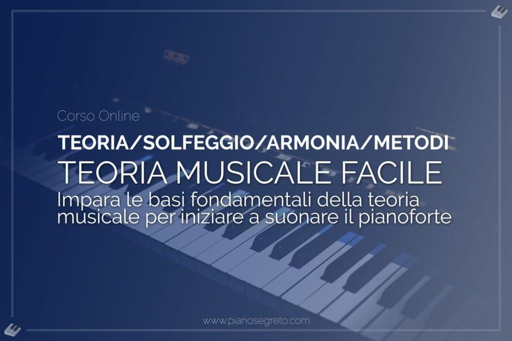 corso gratuito di teoria musicale
