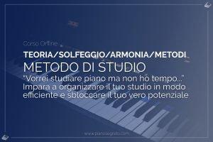 metodo di studio del pianoforte