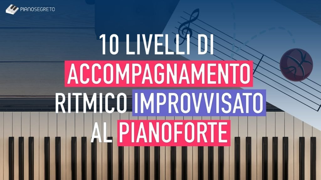 accompagnamento ritmico al pianoforte improvvisato