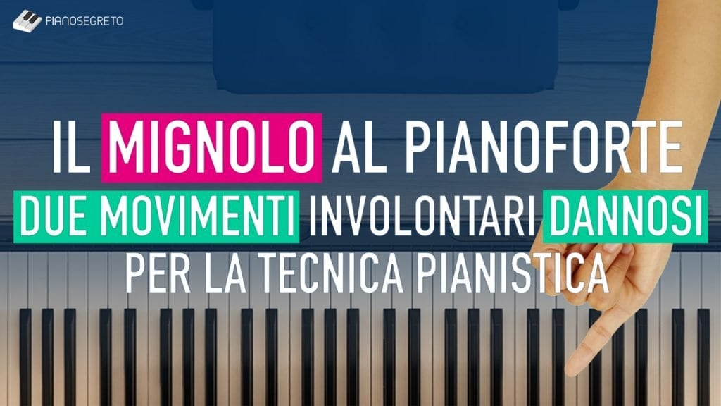 Mignolo al pianoforte
