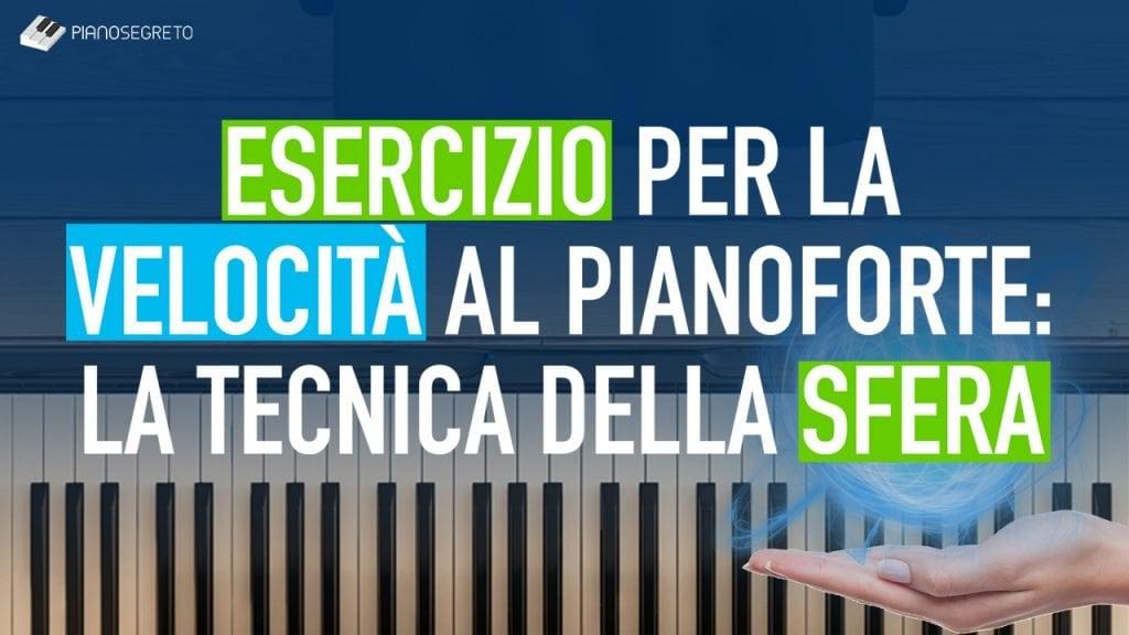 velocità al pianoforte