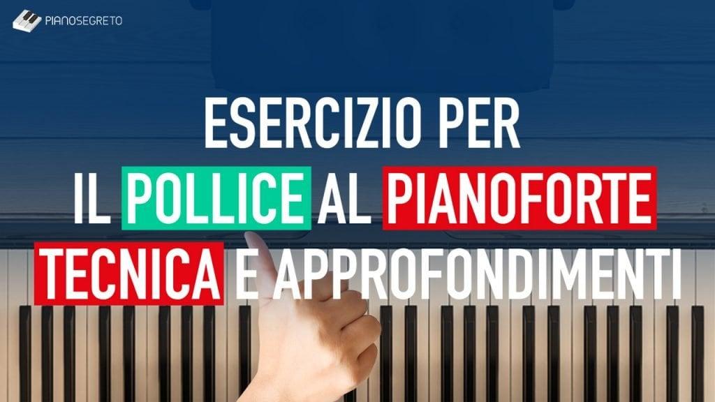 pollice al pianoforte