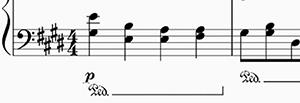 pedale pianoforte