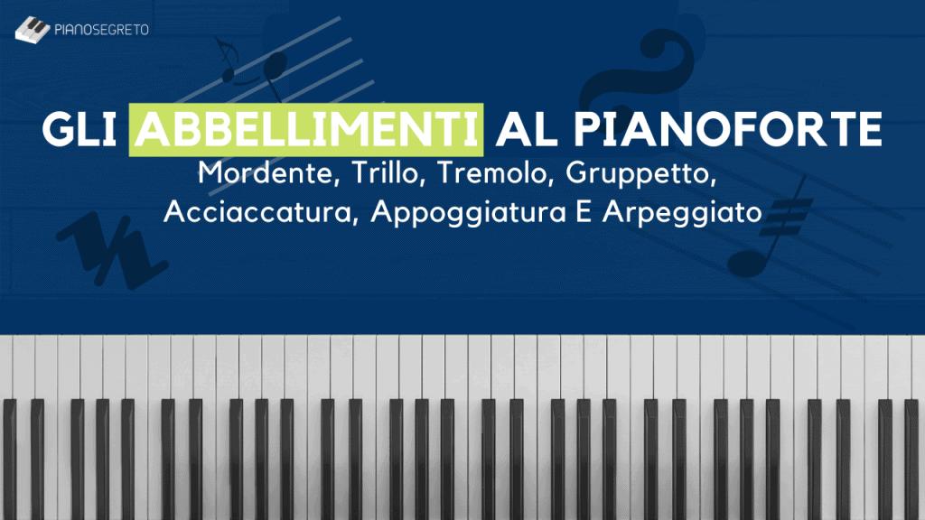 abbellimenti al pianoforte